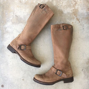 Frye Shoes - Frye Brown Veronica Boot